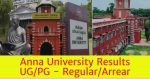 Anna University results,anna university exam result