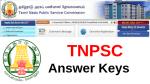 tnpsc answer keys,answer keys